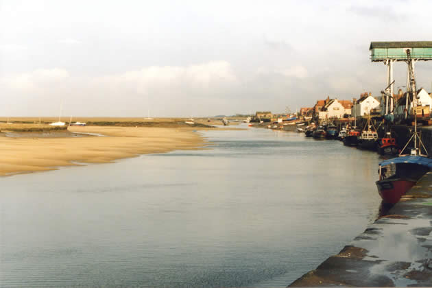Quay at Wells-next-the-Sea